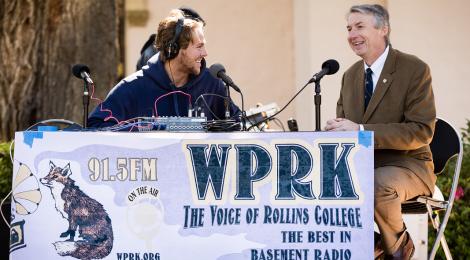WPRK interviews Rollins President-Elect Grant Cornwell